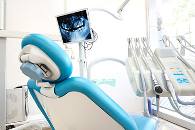 Dental Chair at Optimum Oral Surgery Group